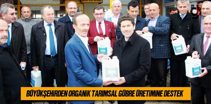 Büyükşehirden Organik Tarımsal Gübre Üretimine...