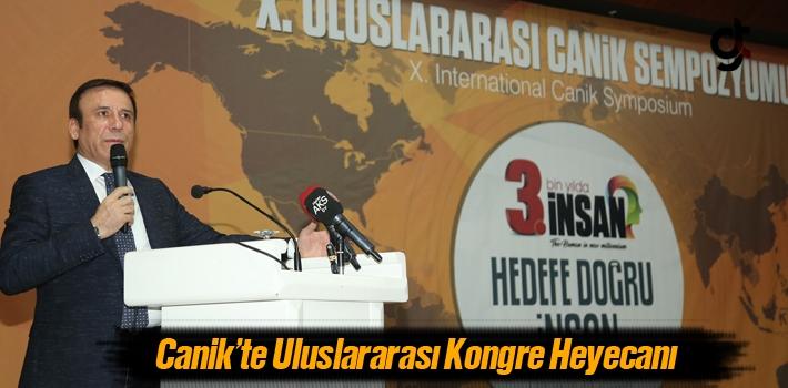 Canik'te Uluslararası Kongre Heyecanı