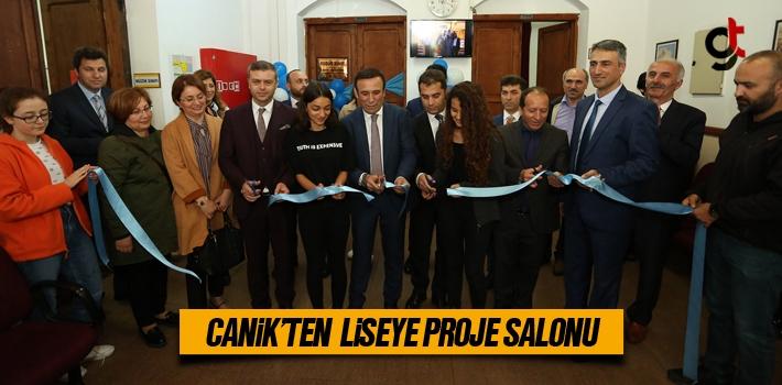 Canik'ten Liseye Proje Salonu