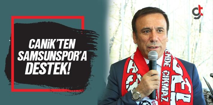 Canik'ten Samsunspor'a Destek!