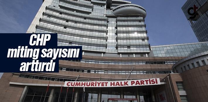 CHP, Yerel Seçimlerde 32 Miting Yapacak