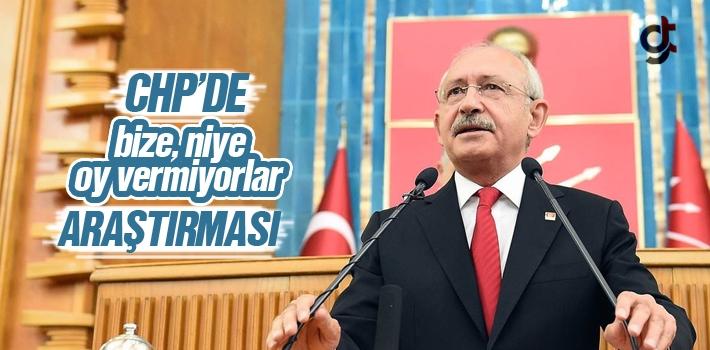 CHP'de 'Bize Niye Oy Vermiyorlar' Araştırması Yapılıyor