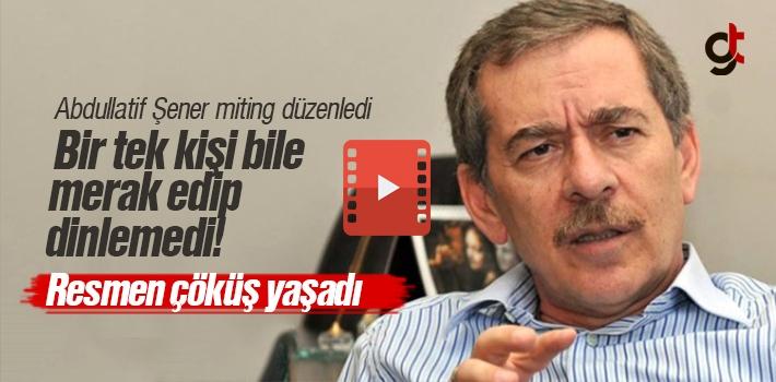 CHP'li Abdüllatif Şener'i Ladik'te Kimse Dinlemedi