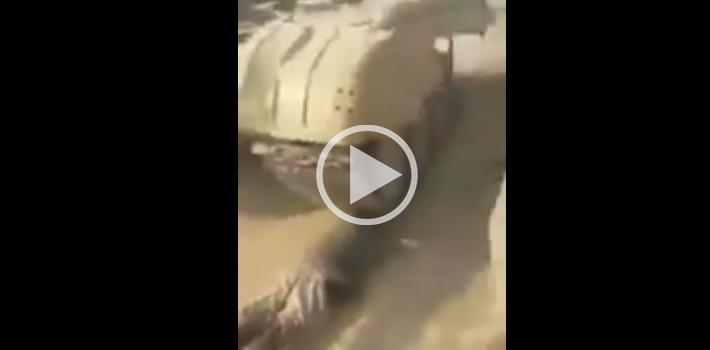 Çocuğun Üzerinden Tank İle Geçtiler