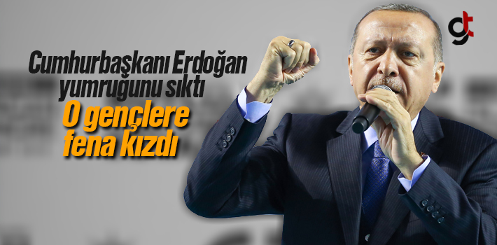 Cumhurbaşkanı Erdoğan'ı Samsun'da Kızdıran Olay