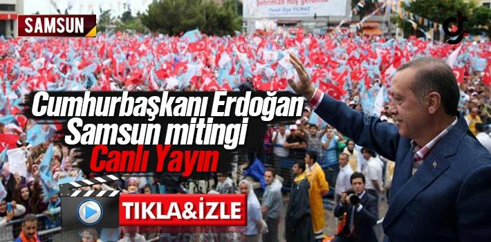 Cumhurbaşkanı Recep Tayyip Erdoğan AK Parti Samsun...