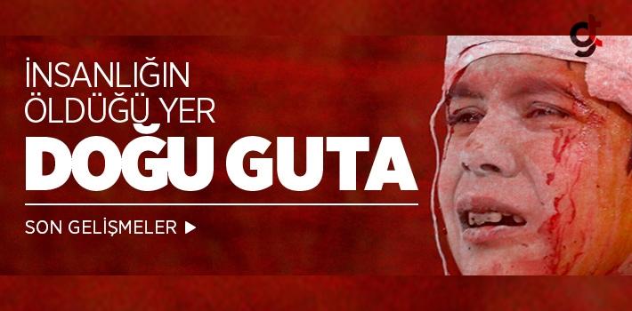 Doğu Guta'ya şiddetli saldırılar sürüyor