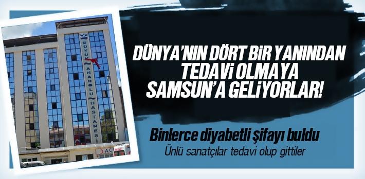 Dünyanın dört bir yanından Büyük Anadolu Hastanesi'ne...