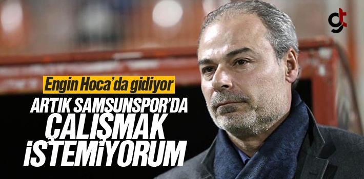 Engin İpekoğlu Samsunspor'dan İstifa Etti