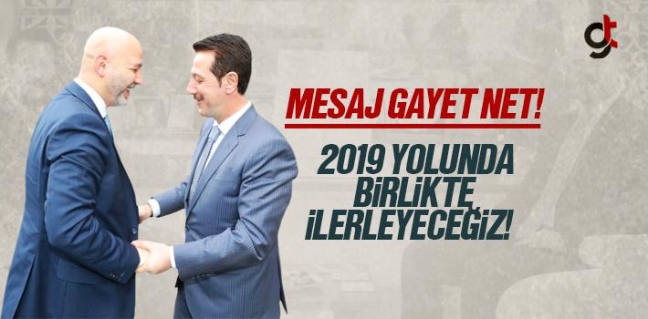 Erdoğan Tok ve Hakan Karaduman'dan Birliktelik Mesajı