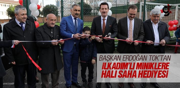Erdoğan Tok'tan İlkadım'lı Miniklere Halı Saha...