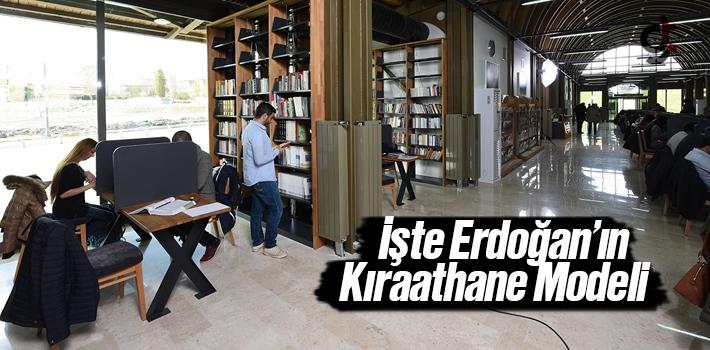 Erdoğan'ın Kıraathane Modeli Kütüphanesi