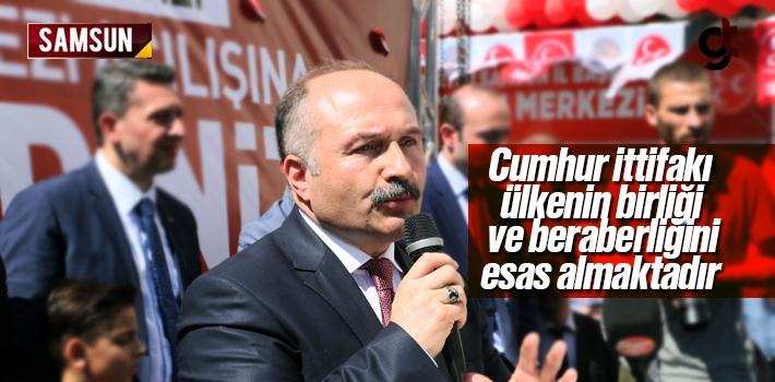 Erhan Usta; Cumhur İttifakı ülkenin birliği ve...