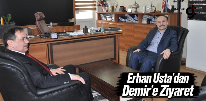 Erhan Usta'dan Demir'e Ziyaret
