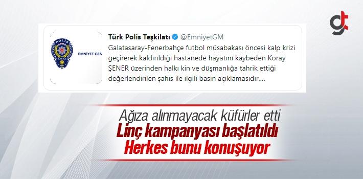 Fenerbahçeli Koray Şener Öldükten Sonra Küfürler Eden Şahıs Okan Çetin Gözaltına Alındı