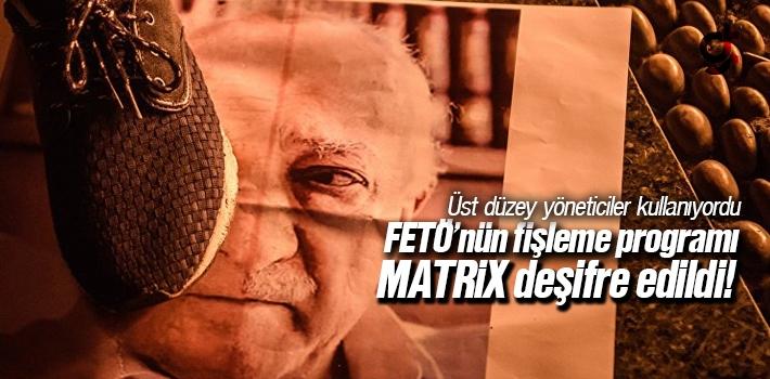 FETÖ'nin Fişleme Programı MATRİX Deşifre Edildi