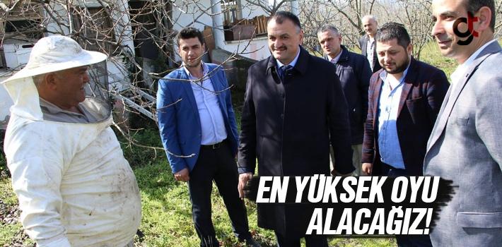 Halil Akgül, 'En Yüksek Oyu Alacağız'