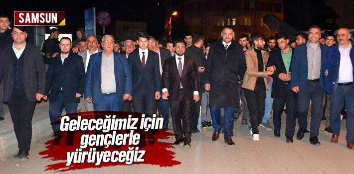 Halil Akgül, 'Geleceğimiz İçin Gençlerle Yürüyeceğiz'