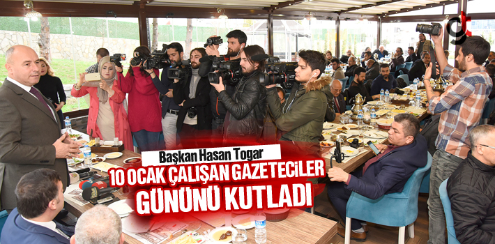 Hasan Togar, 10 Ocak Çalışan Gazeteciler Gününü...