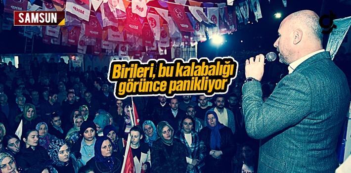 Hasan Togar, 'Birileri Bu Kalabalığı Görünce...