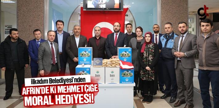 İlkadım Belediyesi'nden Afrin'de ki Mehmetçiğe...