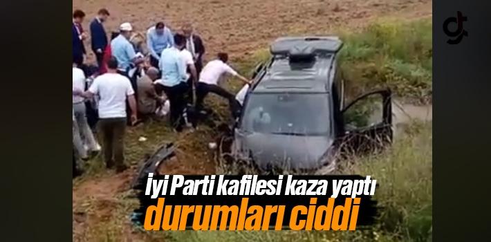 İyi Parti İl Başkanı Ömer Süslü, İbrahim Özyer...