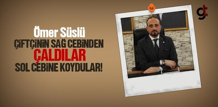 İYİ Parti Samsun Kurucu İl Başkanı Ömer Süslü,...