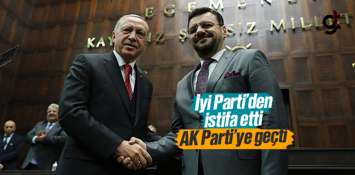 İyi Parti'den İstifa Eden Manisa Milletvekili Tamer...