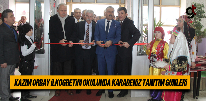 Kazım Orbay İlköğretim Okulunda Karadeniz Tanıtım...