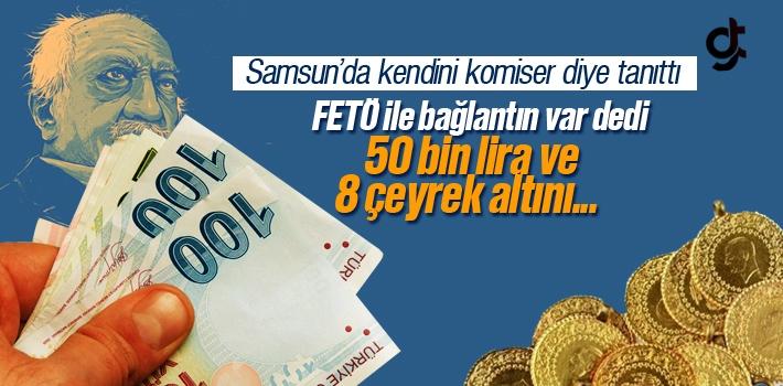Kendini Komiser Diye Tanıtarak 50 Bin Lira ve 8 Çeyrek...