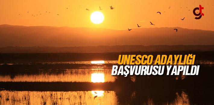 Kızılırmak Deltası Kuş Cenneti İçin UNESCO'ya...