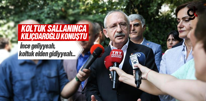 Koltuk Sallanınca Kılıçdaroğlu Açıklama Yaptı