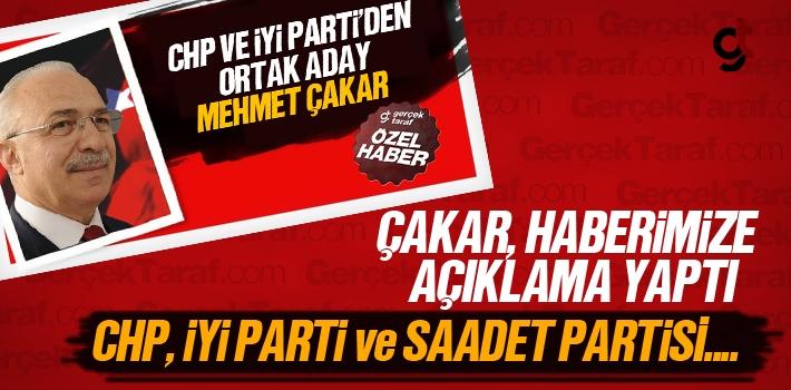 Mehmet Çakar, Adaylığı Hakkında Açıklama Yaptı