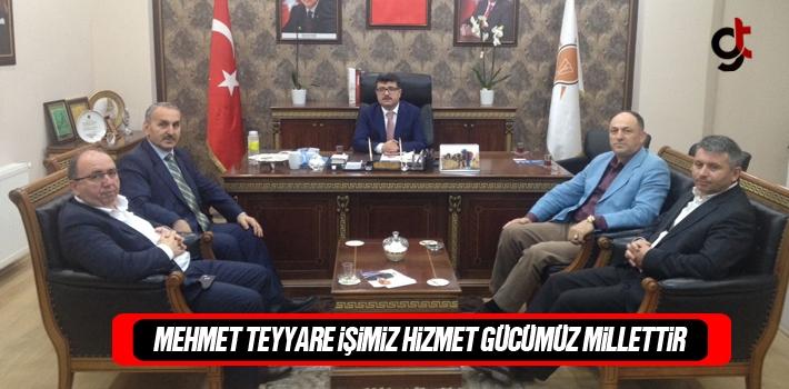 Mehmet Teyyare, İşimiz Hizmet Gücümüz Millettir