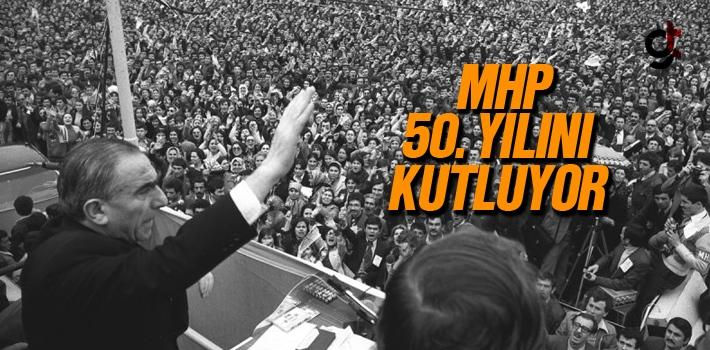 MHP 50. Yılını Kutluyor. 50. Yıla Özel Logo Hazırlandı