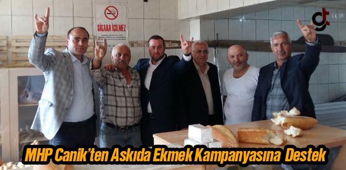 MHP Canik'ten Askıda Ekmek Kampanyasına Destek