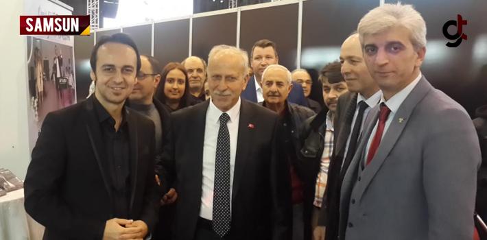 MHP heyeti Ev'leniyoruz 2019 fuarında