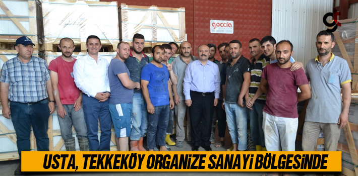 MHP Milletvekili Adayı Usta, Tekkeköy Organize Sanayi...