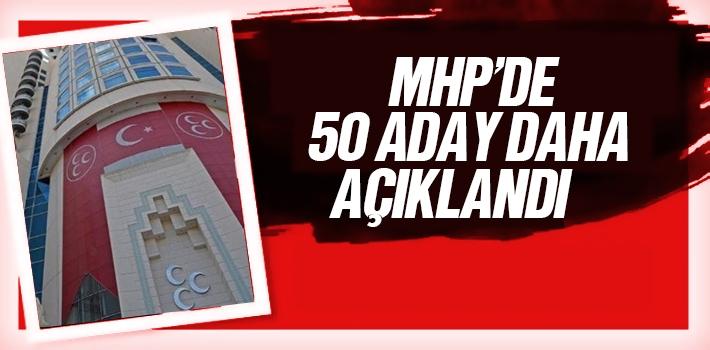 MHP'de 50 Belediye Başkan Adayı Daha Açıklandı