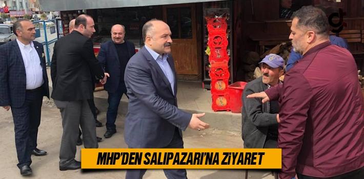 MHP'den Salıpazarı'na Ziyaret