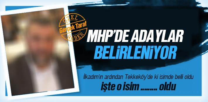 MHP'nin Tekkeköy Aday Adayı Belli Oldu