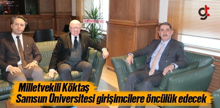 Milletvekili Köktaş, Samsun Üniversitesi Girişimcilere...
