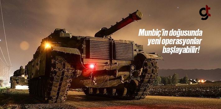 Münbiç ve Fırat'ın doğusunda yeni operasyonlar...