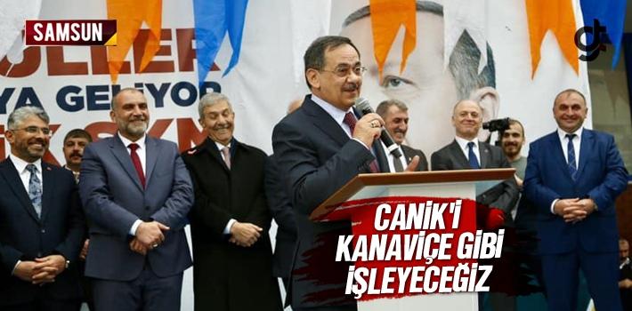 Mustafa Demir, 'Canik'i Kanaviçe Gibi İşleyeceğiz'