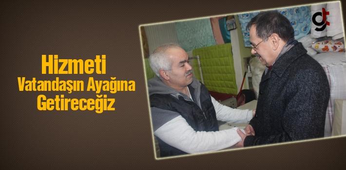 Mustafa Demir, Hizmeti Vatandaşın Ayağına Getireceğiz