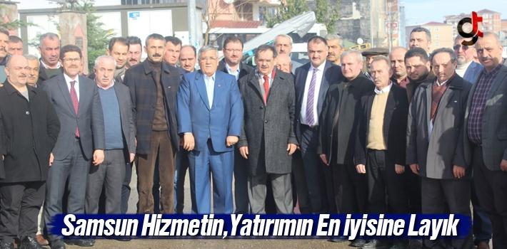 Mustafa Demir, Samsun Hizmetin Yatırımın En İyisine...