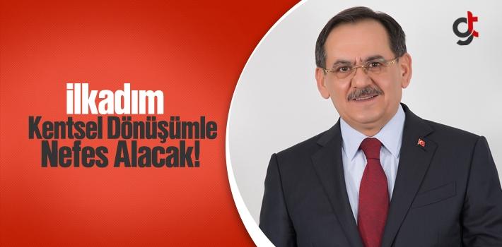 Mustafa Demir,'İlkadım Kentsel Dönüşümle Nefes...