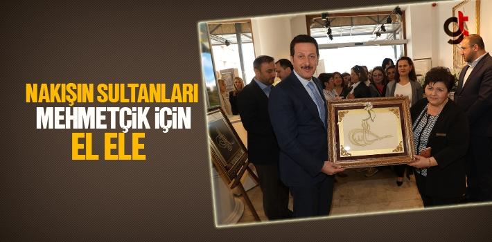 Nakışın Sultanları Mehmetçik İçin El Ele