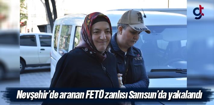 Nevşehir'de Aranan FETÖ Zanlısı Samsun'da Yakalandı