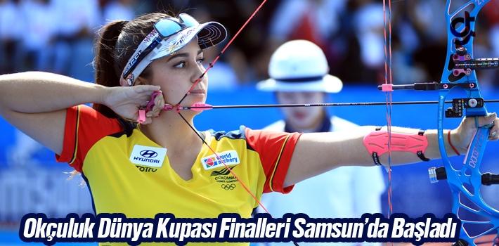 Okçuluk Dünya Kupası Finalleri Samsun'da Başladı